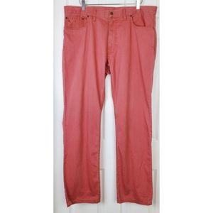 Polo ralph Lauren straight red pants finest made